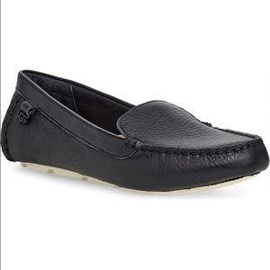 Ugg Flores black driving loafer